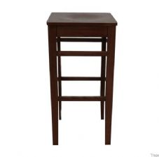 Clarke Wooden High Stool